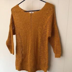 Old Navy Marigold Sweater